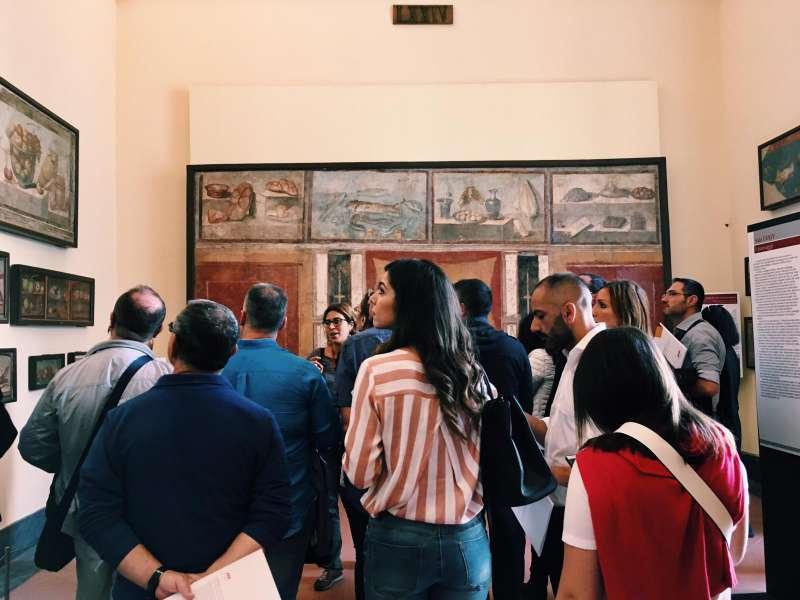 AAA Accogliere Ad Arte, prima tappa al Museo Archeologico Nazionale