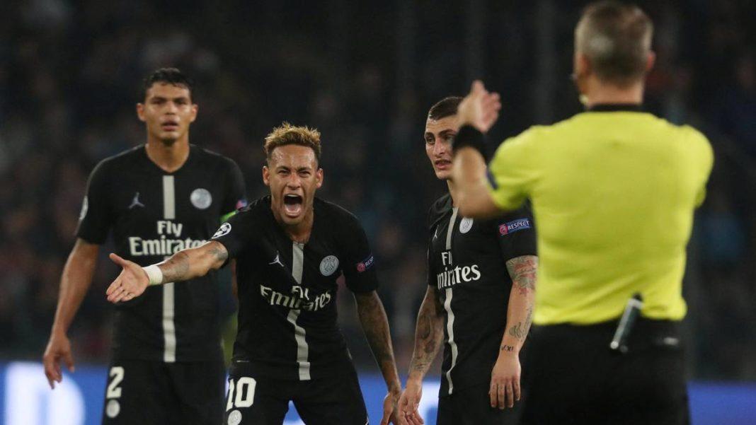 Napoli-Psg, Neymar, Uefa champions league