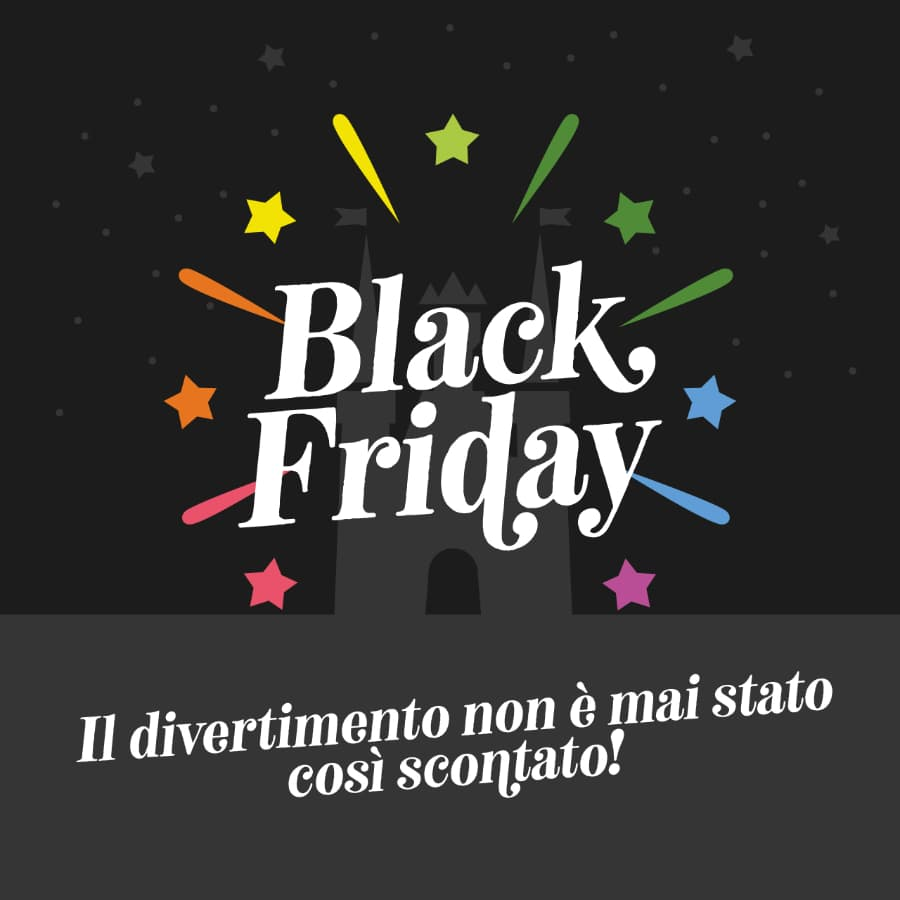 Il Black Friday all'Edenlandia: l'offerta da non perdere