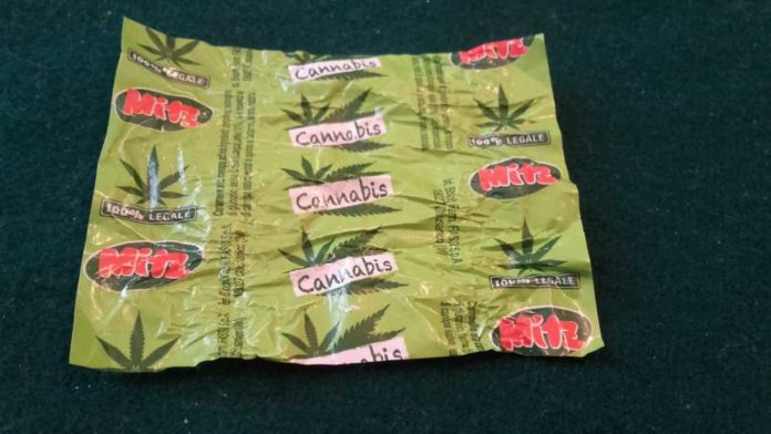 cannabis, hashish, caramelle alla cannabis