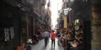 il centro storico di Napoli