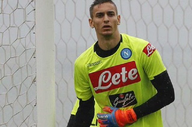 Alex Meret, portiere del Napoli da tempo out per un infortunio