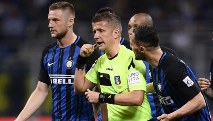 Del Genio sul Var parla anche di Orsato durante Inter- Juve