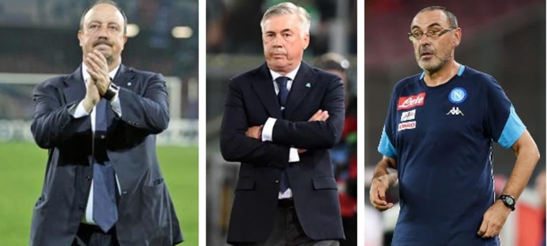 Benitez, Sarri e Ancelotti, partenze a razzo