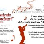 Armonie Cocleari, il 10 dicembre al Conservatorio San Pietro a Majella la premiazione di cantanti e musicisti dall'orecchio bionico