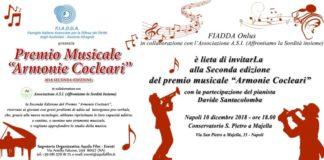 locandina invito del concorso armonie cocleari