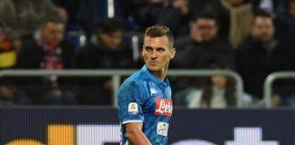 Milik si rialza e salva il Napoli