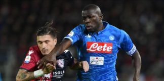 Napoli, vittoria di cuore. Kalidou Koulibaly ha indossato la fascia di capitano del Napoli per la prima volta a Cagliari