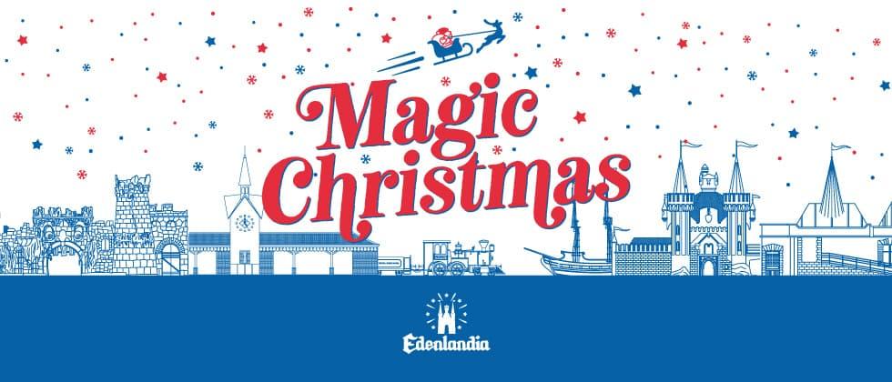 evento Magic Christmas all'Edenlandia