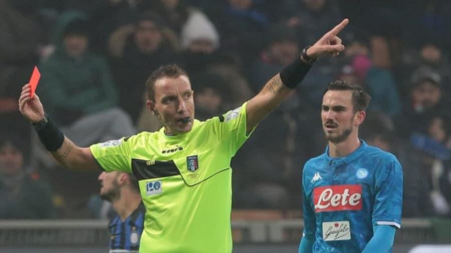 Mazzoleni sordo ai cori razzisti durante Inter - Napoli