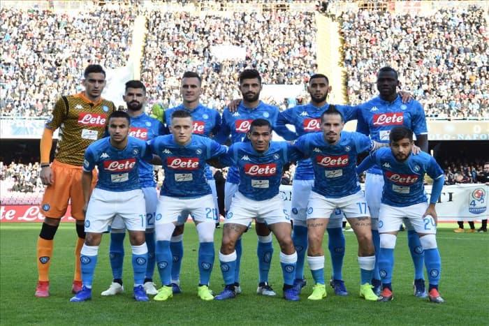 La pagelllina su Napoli - Frosinone