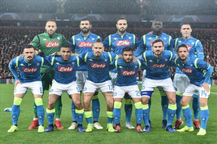 voltare pagina, patto per la squadra del Napoli