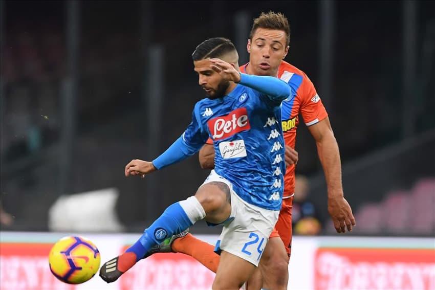 Napoli - Spal, vittoria sofferta