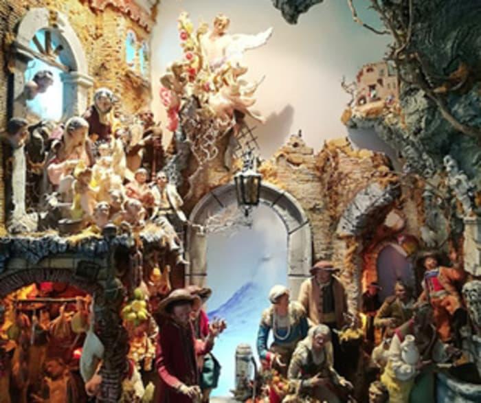 Alle Scuderie di Villa Favorita la mostra 'Viaggiare tra i presepi'