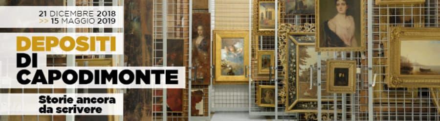 """Depositi di Capodimonte, al via la mostra """"Storie ancora da scrivere"""""""