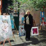 Natale d'arte, luci, suoni, mostre nel cortile di Santa Chiara con l'associazione Primavera Arte
