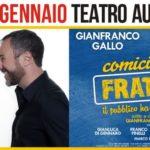 """Teatro Augusteo, Gianfranco e Massimiliano Gallo in """"Comicissimi fratelli. Il pubblico ha sempre ragione"""""""