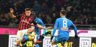 Milan-Napoli, disfatta milanese Coppa italia