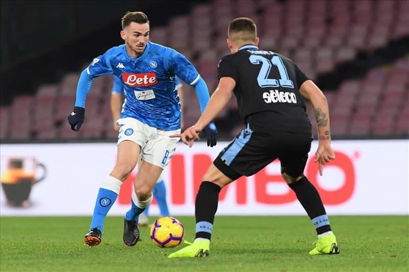 Fabian Ruiz durante Napoli - Lazio