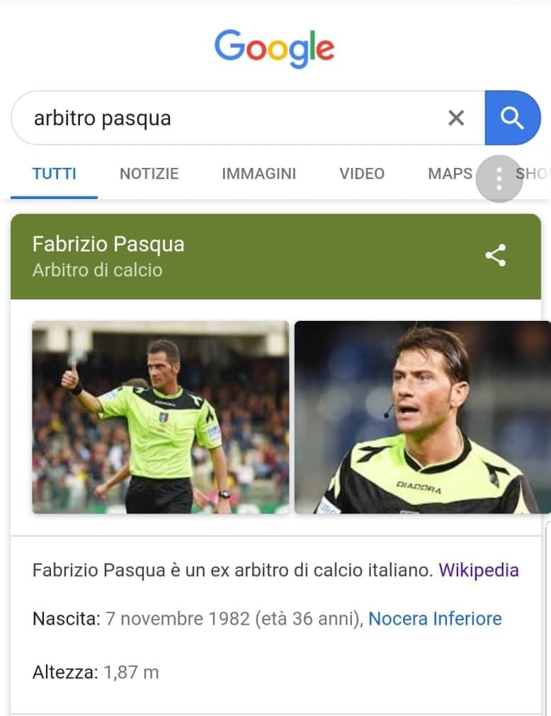 Fabrizio Pasqua ex arbitro