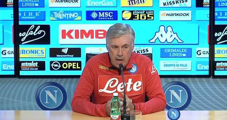 """Ancelotti: """"Allan domani non ci sarà ma resta qui. Se prolungherò il mio contratto? Io sto bene e credo anche il Napoli con me"""""""