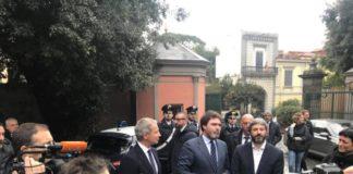 Roberto Fico in visita