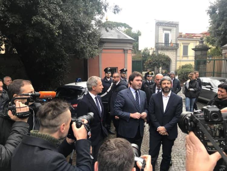 """Roberto Fico in visita a Capodimonte: """"Luogo di cultura straordinario, unico in Europa"""""""