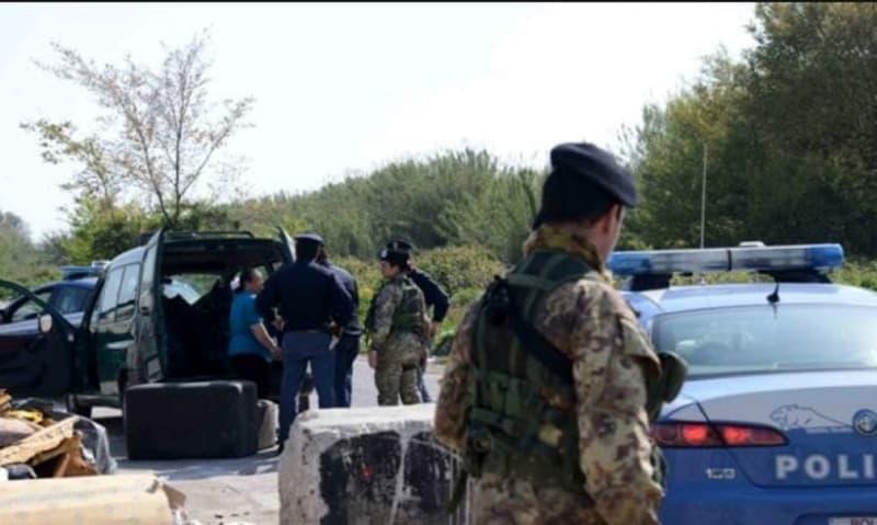 cinque nuove discariche illegali - esercito, polizia