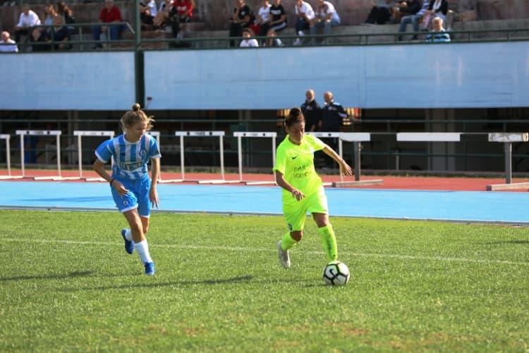 Napoli femminile da record: vittoria 14-0 in Calabria