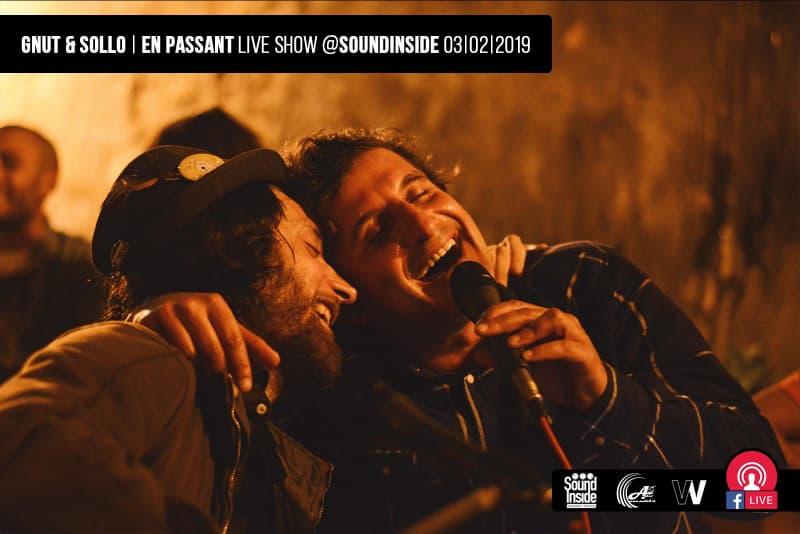Gnu&Sollo, concerto in cuffia al Soundinside