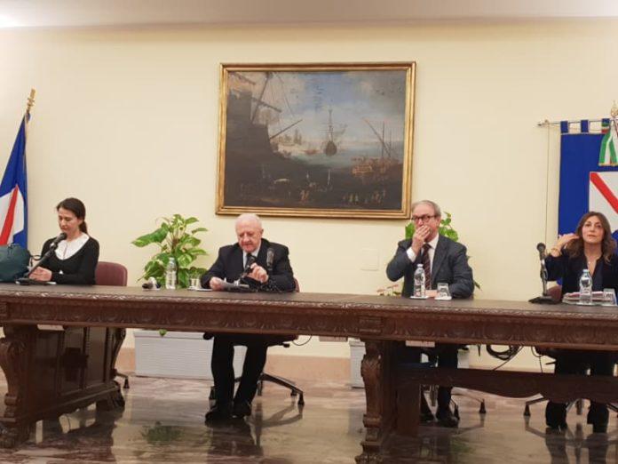Il presidente De Luca oggi ha presentato la normativa sulla fecondazione assistita