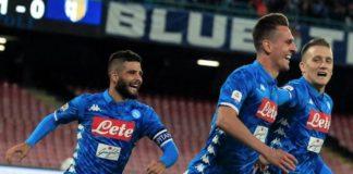 napoli - Sampdoria: torna il bel calcio, è stato un incidente di percorso