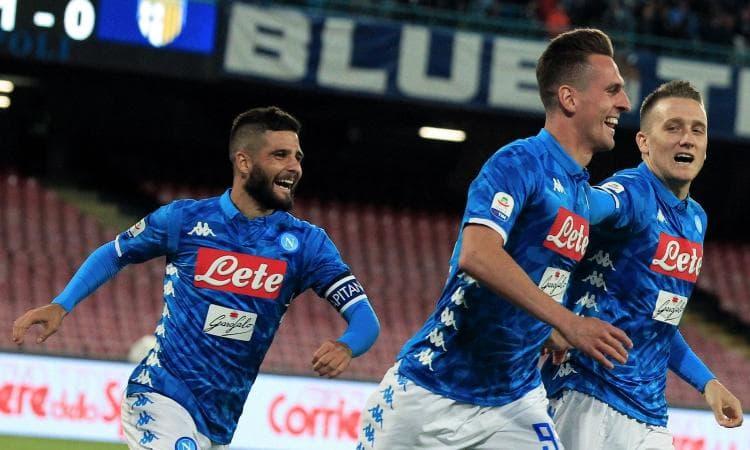 Napoli: è stato veramente un incidente di percorso e ritorna il bel calcio