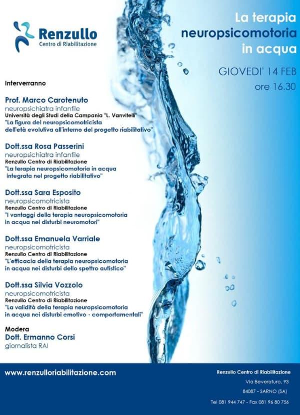 convegno sulla neuropsicomotoria in acqua