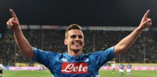 il Napoli domina al Tardini - milik