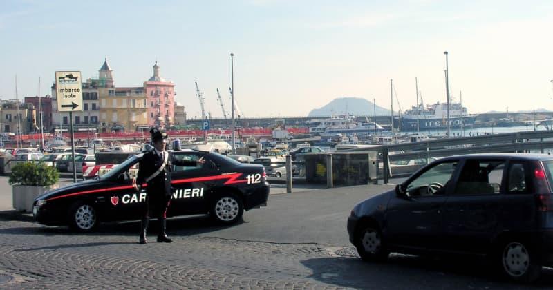 arrestato 25enne di villaricca per violenza sessuale