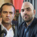 """De Magistris, l'attacco a Saviano: """"Non sa più raccontare Napoli, lui non ci vive più"""""""