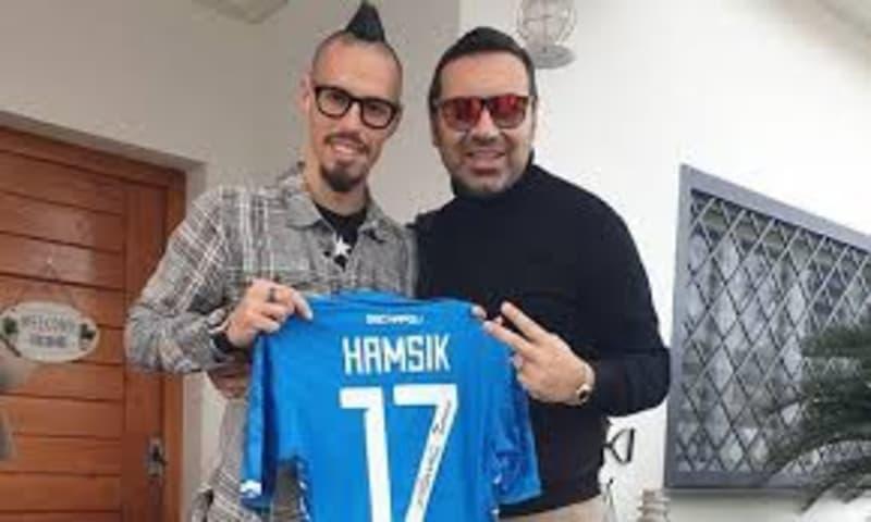 Hamsik, l'ultimo saluto a castelvolturno