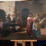 """Arte, restituito a Napoli """"I Perditempo"""", il capolavoro dell'Ottocento trafugato nel secondo dopoguerra"""