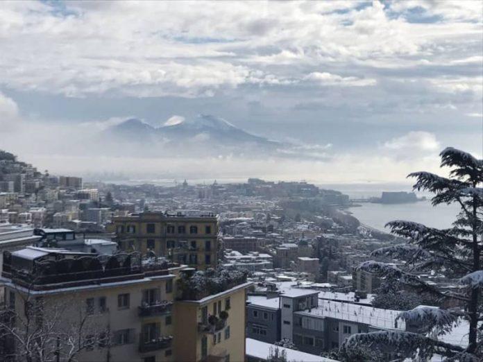 Allerta meteo Campania: arriva il gelo