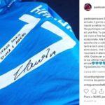 """Hamsik, l'ultima maglia è per Paolo Cannavaro: """"Al mio capitano con stima e con affetto"""""""