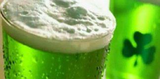 La birra verde: tipica bevanda del St. Patrick's day