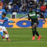 Sassuolo-Napoli pari deludente: la prestazione degli azzurri non convince