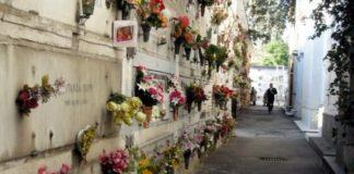 illuminazione votiva al cimitero