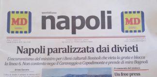 il giornale quotidiano napoli