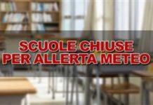 domani chiuse tutte le scuole