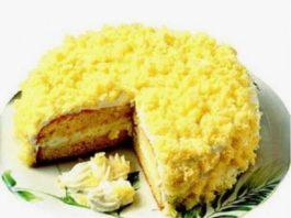 Torta mimosa: il dolce per la festa della donna ( source Pinterest )