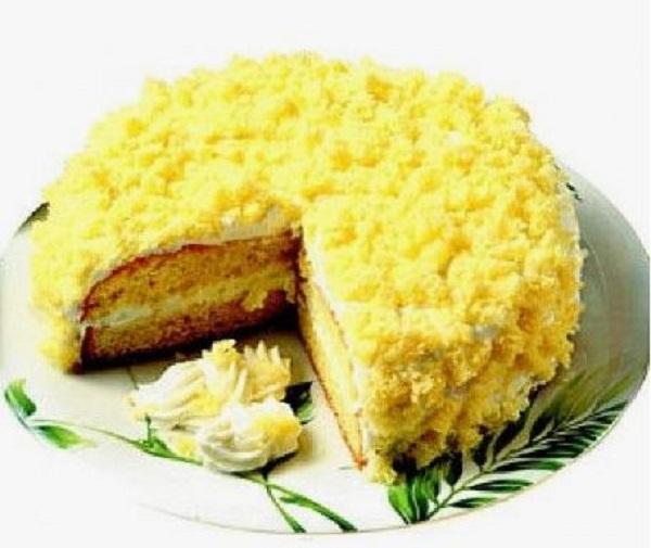 Torta mimosa: il dolce per la festa della donna