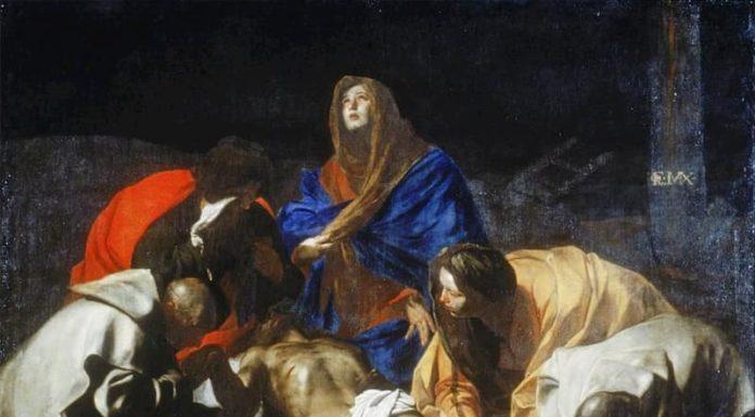 """La """"Pietà"""" di Massimo Stanzione"""
