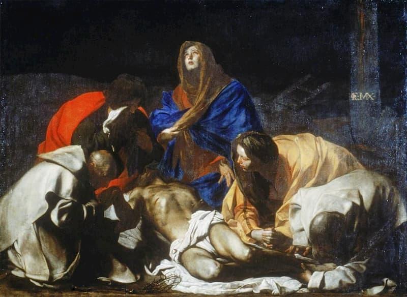 """Quando Ribera temeva la """"Pietà"""" di Stanzione"""